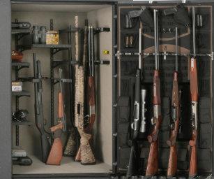 Gun Safe Shower Curtain