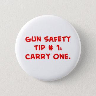 gun safety tip #1 button