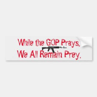 Gun Sense Bumper Sticker