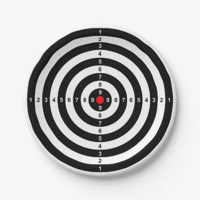 sc 1 st  Zazzle & Target Paper Plate | Zazzle.com