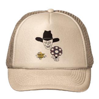 gun skull and badge sheriff - Dodge City, Kansas Trucker Hat