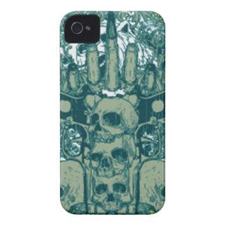 Gun skull iPhone 4 case