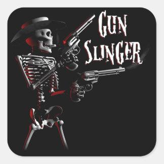 Gun Slinger Stickers