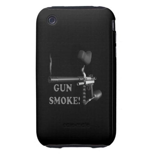 Gun Smoke Tough iPhone 3 Case