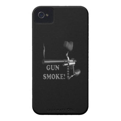 Gun Smoke iPhone 4 Cover