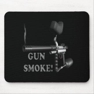 Gun Smoke Mouse Pad