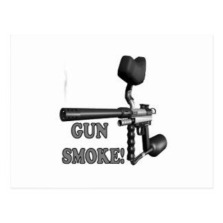 Gun Smoke Postcard