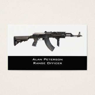 Gun Store / shooting range business card