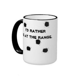Gun Target Shooting Range Mugs
