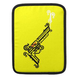 Gun Tattoo iPad Sleeve