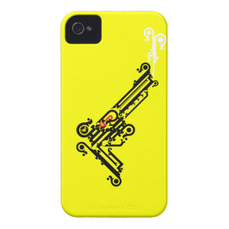 Gun Tattoo iPhone 4/4S ID/Credit Card Case iPhone 4 Covers