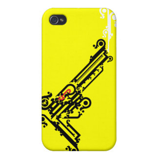 Gun Tattoo iPhone 4 Speck Case Cover For iPhone 4