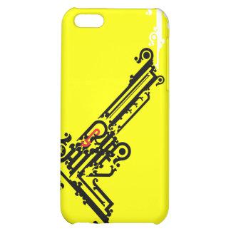 Gun Tattoo iPhone 4 Speck Case iPhone 5C Cover