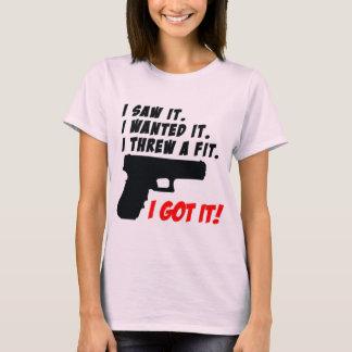 Gun Temper Tantrum T-Shirt