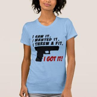 Gun Temper Tantrum Tshirts