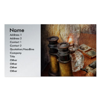 Gun - The adventures code Business Card Template
