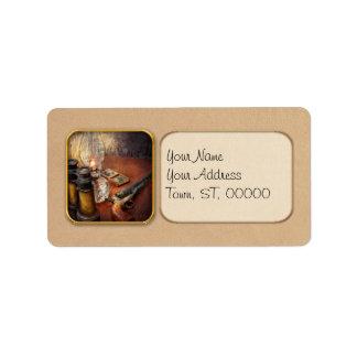 Gun - The adventures code Custom Address Label