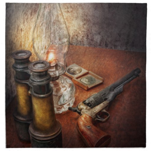 Gun - The adventures code Napkin