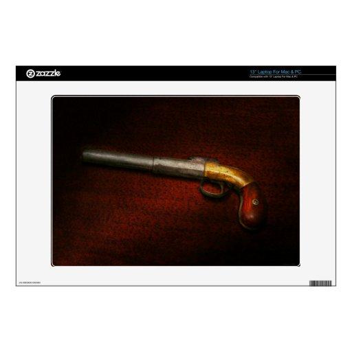 """Gun - The shooting iron 13"""" Laptop Skins"""