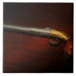 Gun - The shooting iron Ceramic Tile