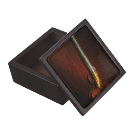 Gun - The shooting iron Premium Keepsake Box