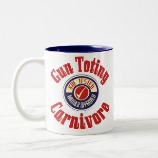 Gun Toting Carnivore Mug