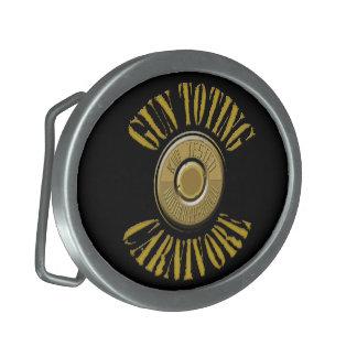 Gun Toting Carnivore Primer Buckle Belt Buckle