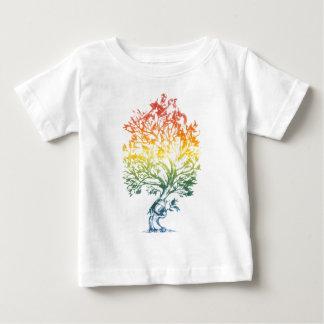 Gun-Tree-Image Baby T-Shirt