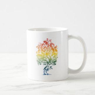 Gun-Tree-Image Classic White Coffee Mug