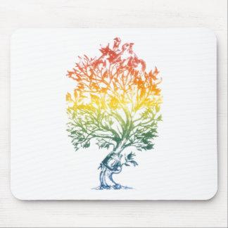 Gun-Tree-Image Mouse Pad