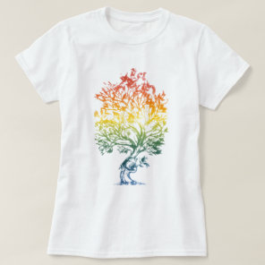 Gun-Tree-Image T-Shirt