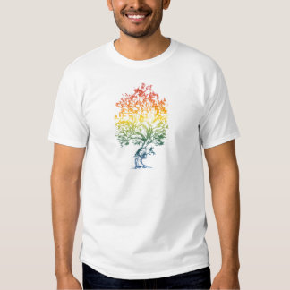 Gun-Tree-Image Tee Shirts
