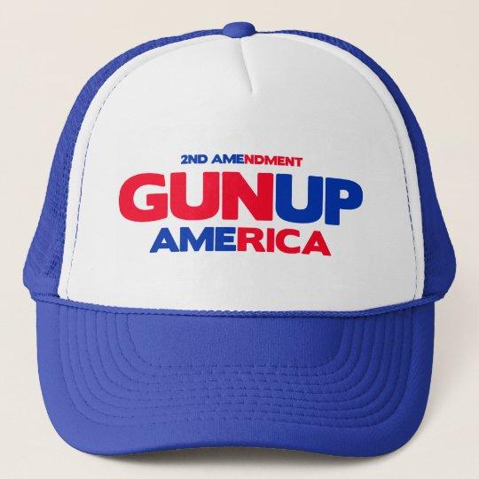 Gun Up America Trucker Hat