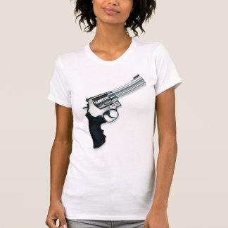 Gun vintage style womens tshirt