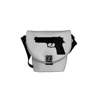 Gun weapon courier bag