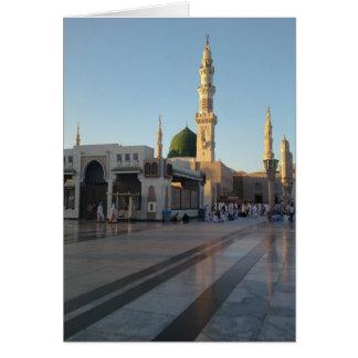Gunbad-e-Khidra (Masjid Nabwi) Medina Tarjeta De Felicitación