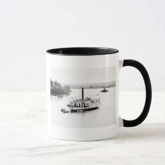 Gunboat Commodore Perry: 1860s Mug