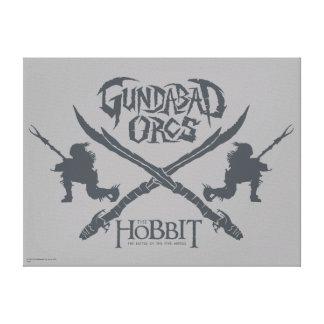 Gundabad Orcs Movie Icon Canvas Print