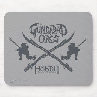 Gundabad Orcs Movie Icon Mouse Pad