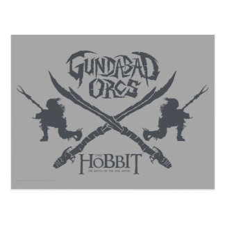 Gundabad Orcs Movie Icon Post Card