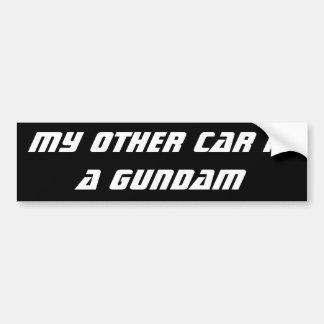 Gundam Pegatina Para Auto