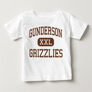 Gunderson - grisáceos - alto - San Jose California Remeras