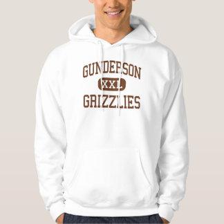Gunderson - Grizzlies - High - San Jose California Hoodie