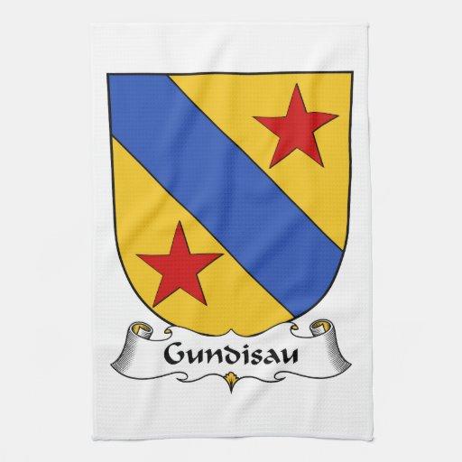 Gundisau Family Crest Towel