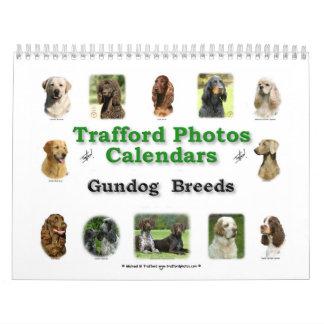 Gundog Breeds Calendar