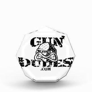 GunDudes Acrylic Award