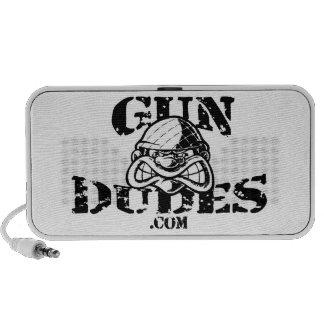 GunDudes Mp3 Altavoces