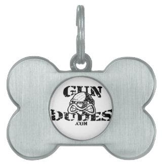 GunDudes Pet Tags