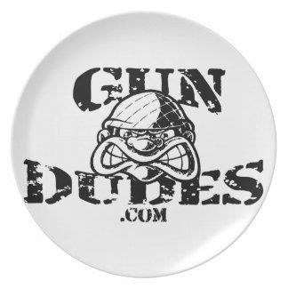 GunDudes Plate