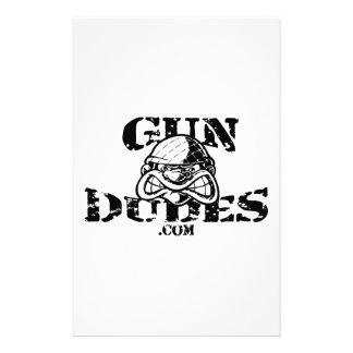 GunDudes Stationery Paper